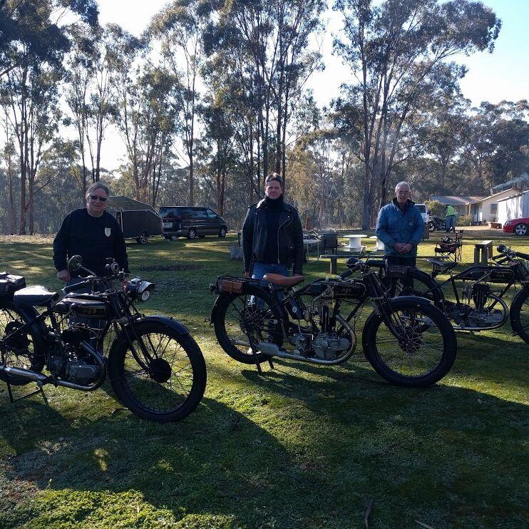 Heathcote Rally 2018 Ajs